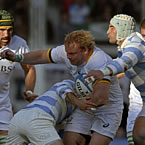 South Africa beat Argentina to end losing streak
