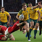 Australia win battle of the boot against Wales