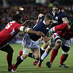 Scotland bring Russell back for Samoa clash