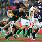 South Africa run riot against Scotland