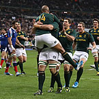 South Africa down France to end tour unbeaten