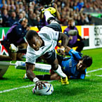 Fiji finish with seven try Uruguay World Cup victory