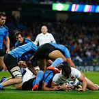 England romp to victory over Uruguay