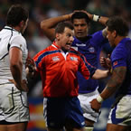 Rugby World Cup quarter final refs revealed