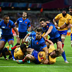 France power to victory over gutsy Romania