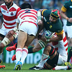 Springboks unchanged for All Black in World Cup