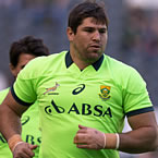 Bok Alberts out of Rugby Championship tour